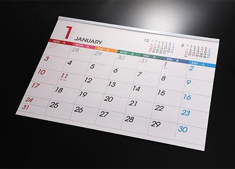 カレンダー(金具付×)